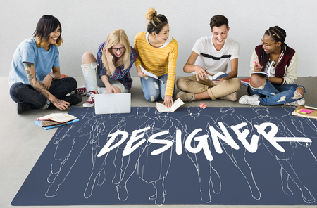 Style Fashion Design Trends Creativity Banque d'images