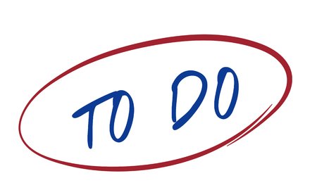 todo list: To Do Idea Memo Note Reminder Task Target Concept Stock Photo