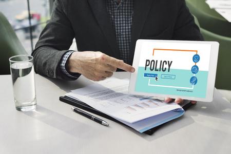 Insurance Life Reimbursement Protection Concept Imagens