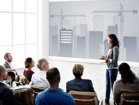 Business Development Innovation Expansion Concept Stok Fotoğraf