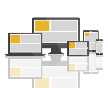 domains: Web Design Template Copy Space Concept