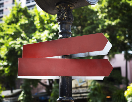 Street Sign Direction Location City Urban