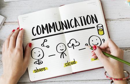 通信: Global Communications Connection Social Media Networking Concept 写真素材