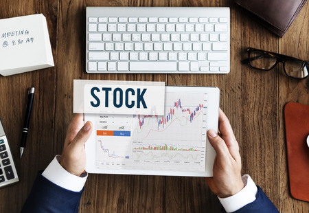 Stock Market Results Stock Trade Forex Shares Concept