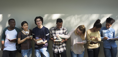 digital device: Friends People Group Teamwork Diversity