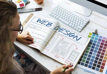 domains: Web Design Layout Content Template Graphic Concept