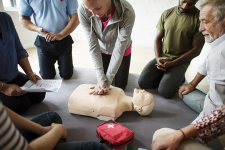 CPR EHBO Training Concept