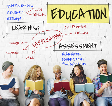 Assessment Learning Application Education School Stock Photo