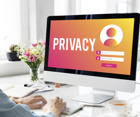 Privacy Sign In User Password Concept Imagens