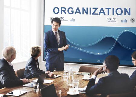 Management Analysis Wave Dashboard Registration Concept Stock Photo