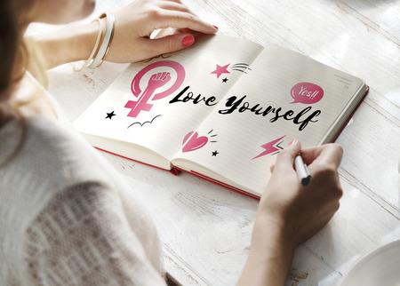 너 자신을 사랑해.