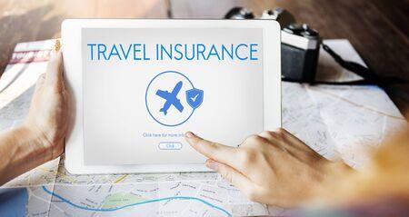 Versicherungsschutz Mix Erstattung Schutzkonzept Standard-Bild - 74158130