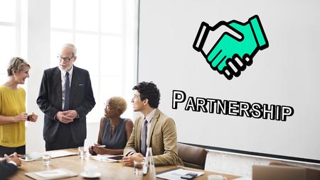 Trust Handshake Partnership Coooperation Graphic Concept Stock Photo - 74158642