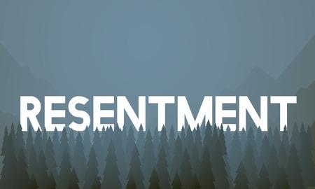 Resentment concept