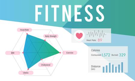 Fitness concept Banco de Imagens