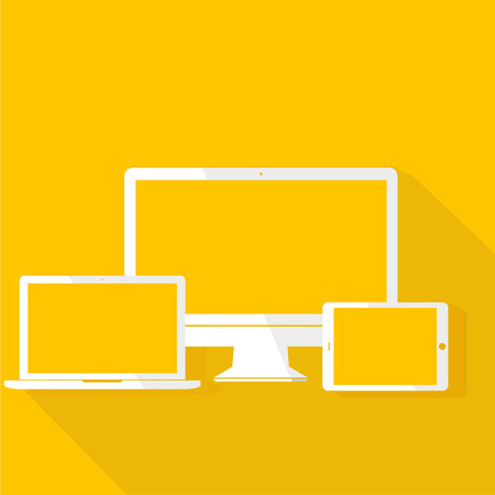Technology Digital Device Icon Vector Concept Illustration