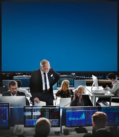 Stock market office concept 写真素材