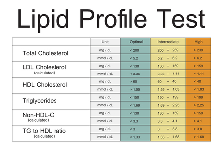 Lipid Profile Test Results Icon
