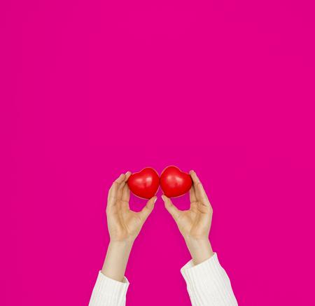 Hands Holding Heart Love Romance