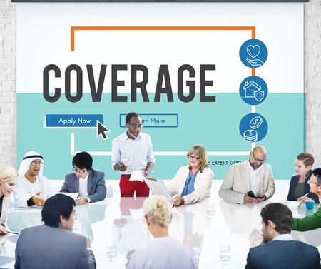 Insurance Life Reimbursement Protection Concept Stock Photo