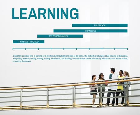 Lernen Wissen Ausbildung Studium Konzept