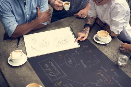 Startup Business Plan Colleague Work