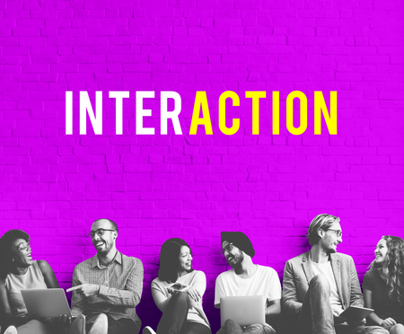 Technology online social media connection Reklamní fotografie