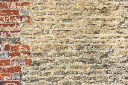 Brick Facade Grunge Masonry Old Pattern Concept