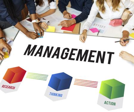 ビジネス システム開発図コンセプト 写真素材