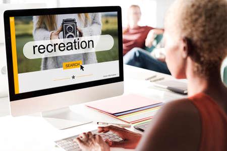 Recreation Motivation Encourage Positivity Mission Stock Photo