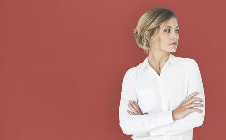 boldness: Woman Confidence Self Esteem Portrait Concept