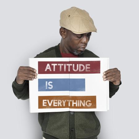 態度すべてがあなた自身です。