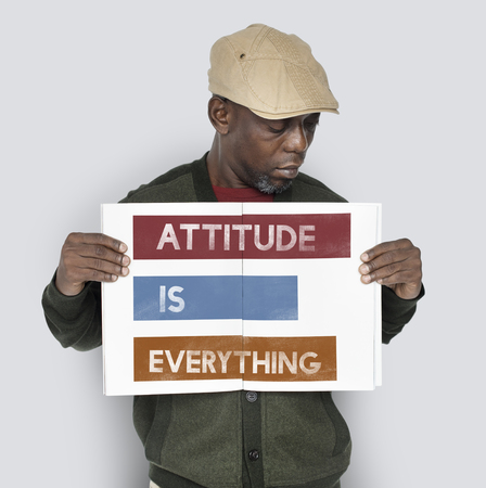 Attitude is Everything Be Your Own Banco de Imagens - 75456684