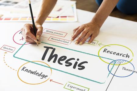 Schoolonderwijs studie proces diagram