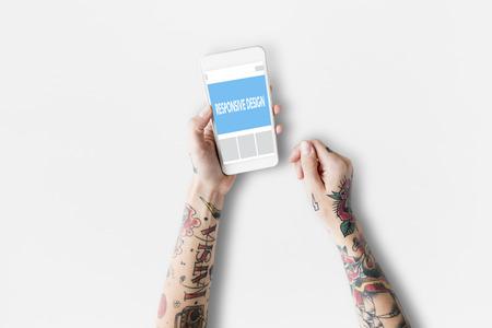 Responsive Web Design Word Concept