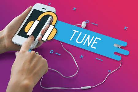 media gadget: Audio Tune Harmony Media Entertainment Graphics
