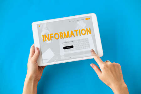 media gadget: Internet Technology Social Media Concept Stock Photo