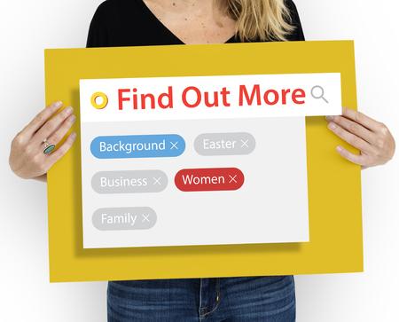 more mature: Search engine box random concept