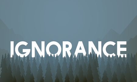 Ignorance concept Stock Photo - 113676402