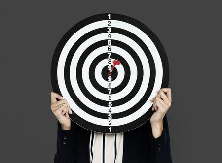 fulfilled: Dartsboard Bullseye Business Wear