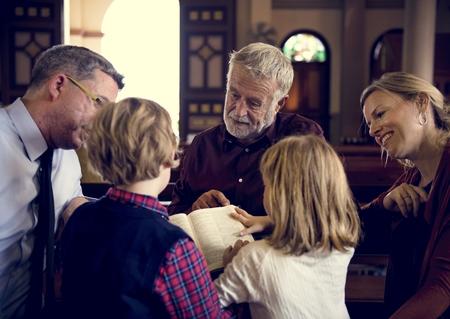 Church People gelooft Geloof Religieuze Stockfoto - 75904429