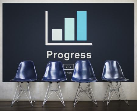 Progress Development Growth Improvement Concept Imagens - 76392283