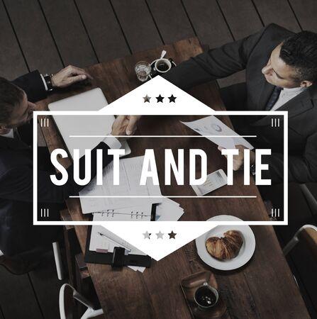Anzug und Krawatte Formalwear Tailormade Business