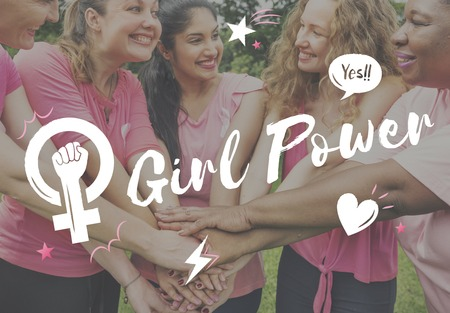 Girl Power Equality Feminist Womens Right Concept