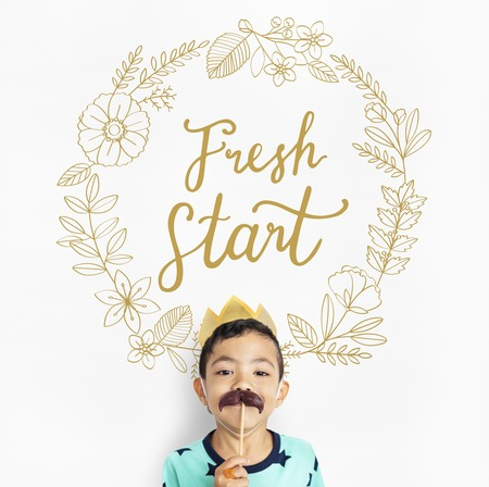 Fresh Start Living Your Life to the Fullest Фото со стока