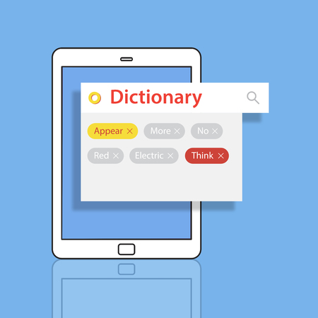 keyword: Word search look up random tags Stock Photo