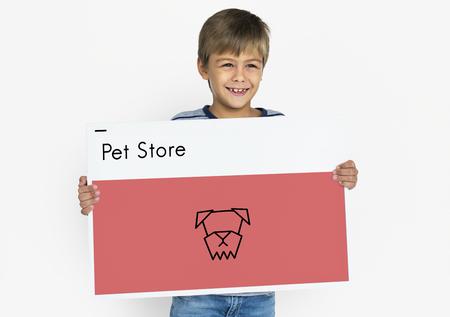 Adopt Animals Best Friends Dog Icon Banque d'images