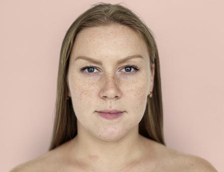 femme gingembre gingembre gingembre portrait nu