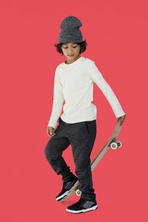 Studio People Model Shoot Kid Boy