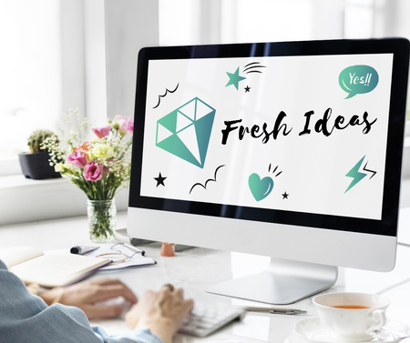 Fresh Ideas Design Creativity Concept